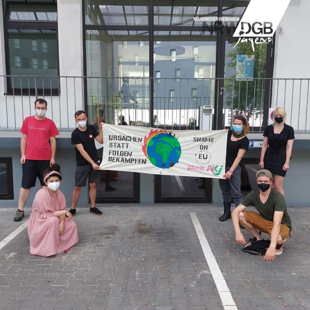 Banner DGB Jugend