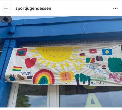 Banner Sport Jugend
